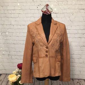 Tristan & Iseut Leather Jacket